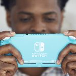 Nintendo Switch Lite, Backside