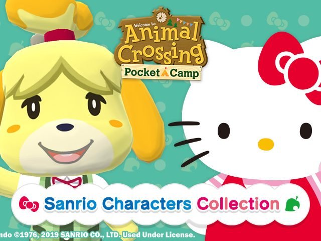 Animal Crossing Pocket Camp Sanrio Characters